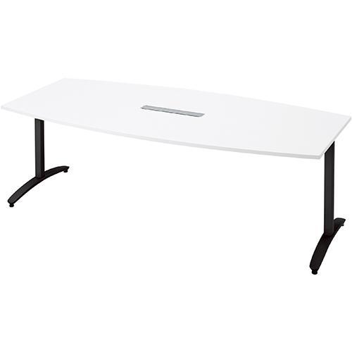送料無料 ロンナ 会議テーブル NN-2110TABH W4/BK (jtx 677435) プラス プラス