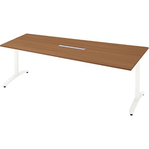 送料無料 ロンナ 会議テーブル NN-2110TADH T2/W4 (jtx 677457) プラス