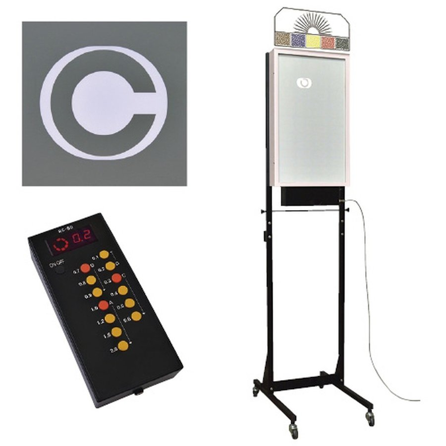 LED式視力検査器(スタンド式5m用 24-3181-03 1入り