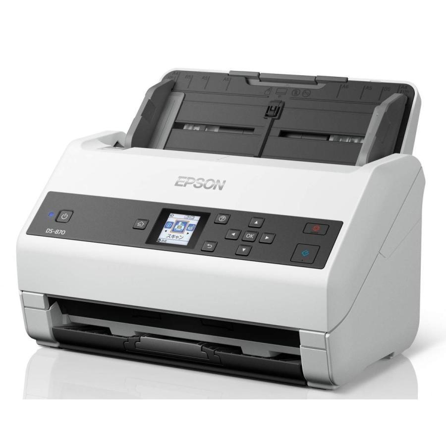 エプソン スキャナー DS-870 (シートフィード/A4両面/USB対応)