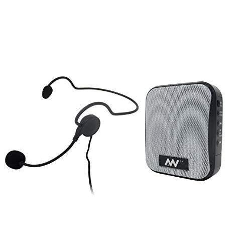 飛沫拡散防止対策にハンズフリー ポータブル拡声器 MP3フォーマットでUSBメモリ、Micro SDカードに録音可能、リチウムイオンバッテリ|turaronkon
