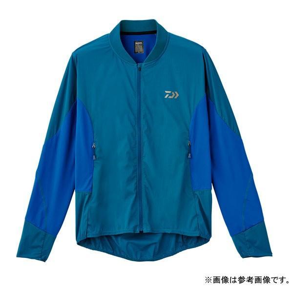 ダイワ ストレッチハイブリッドジャケット  DE-35008 モロッカンブルー サイズ:M 【道内送料無料】