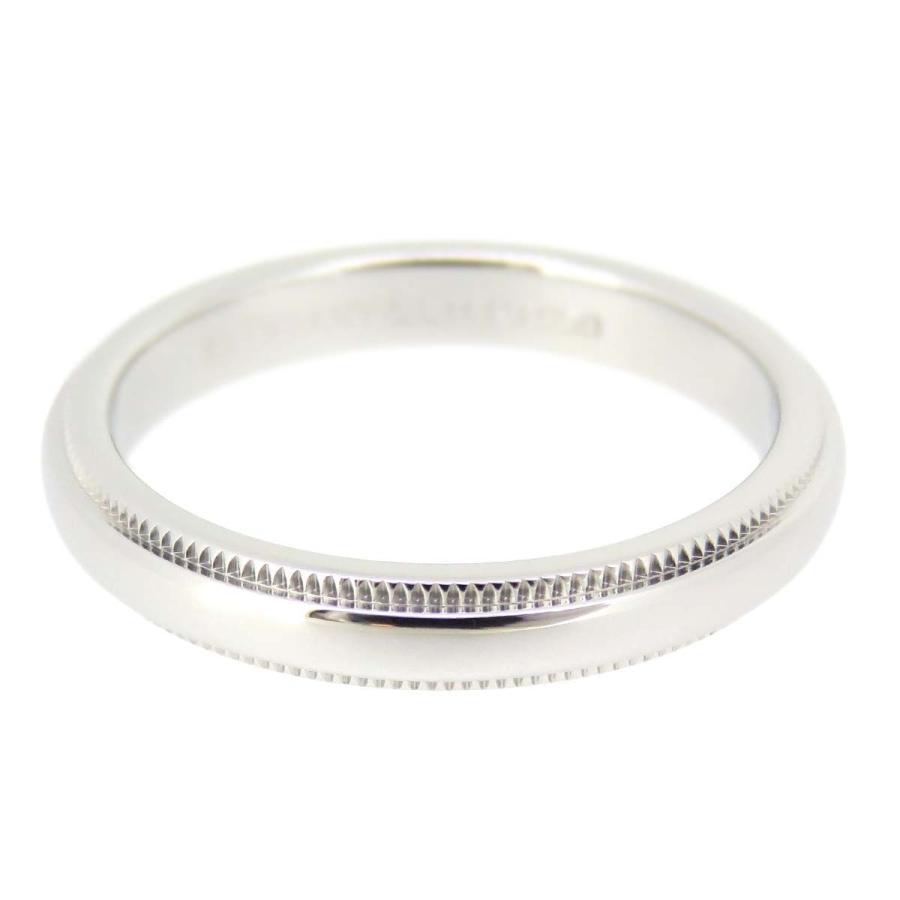 ●日本正規品● ティファニー ミルグレイン バンドリング 3mm ティファニークラシック ウェディング 結婚指輪 マリッジリング Pt950 【ジュエリー】, えびせん館 be1e0801
