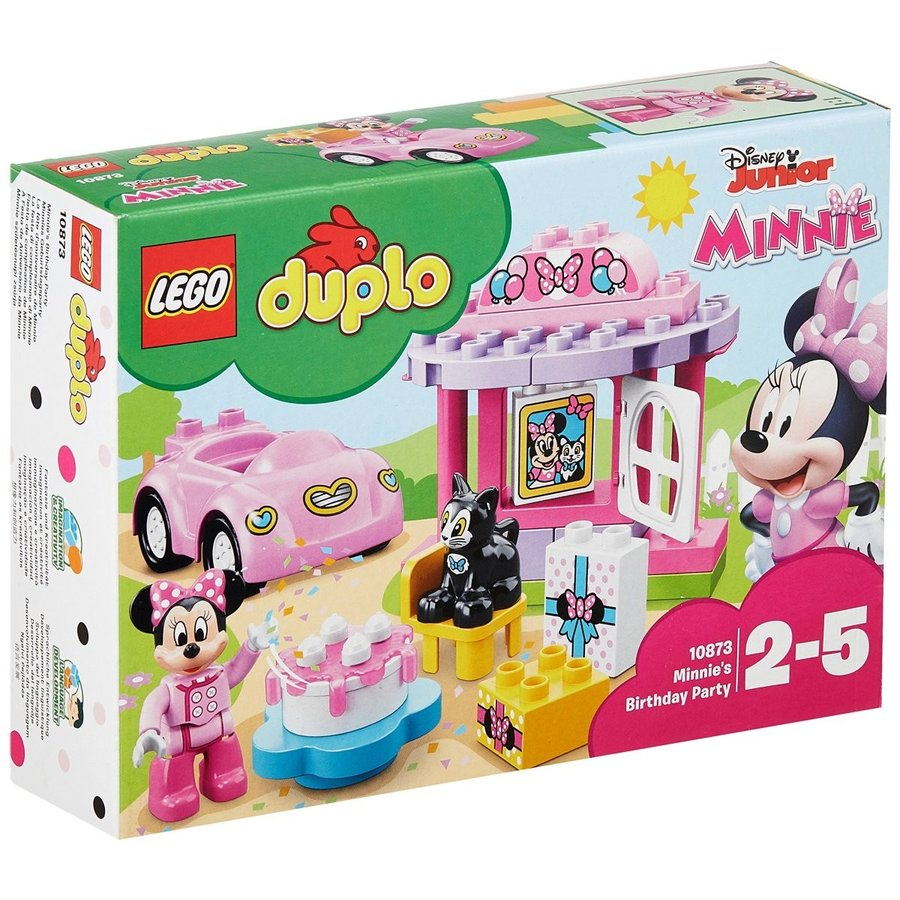 レゴ(LEGO)デュプロ ミニーのお誕生日パーティー 10873|tweedia