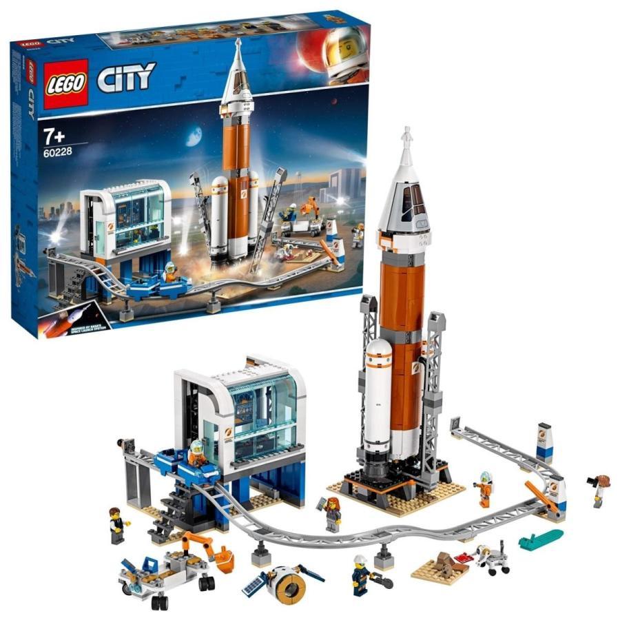 レゴ(LEGO) シティ 超巨大ロケットと指令本部 60228 ブロック おもちゃ 男の子