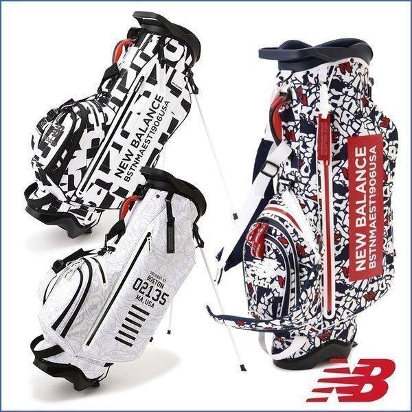 2,500円引クーポン対象 スタンドキャディバッグ ニューバランス NEW BALANCE ゴルフ ゴルフバッグ 9180002