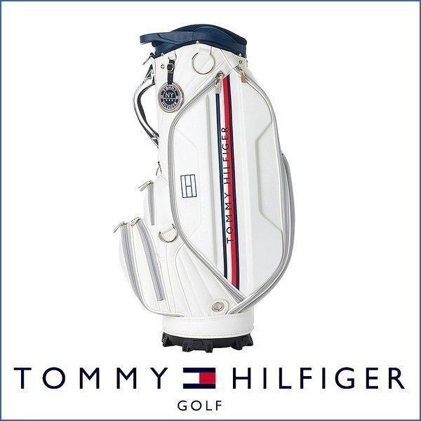 2,500円引クーポン対象 キャディバッグ ゴルフバッグ メンズ レディース トミー ヒルフィガー LIMITED CADDIE BAG THMG9FC2
