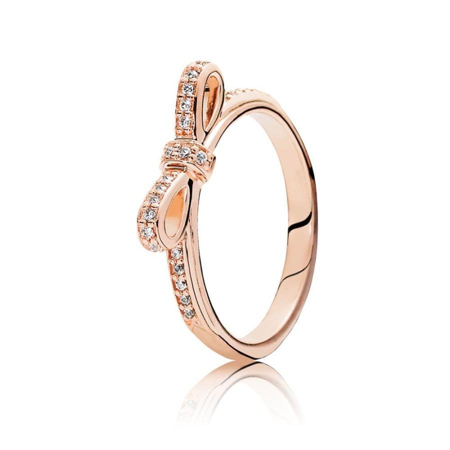 安い割引 Pandora Sparkling Bow Ring, Pandora CZ Rose, Clear 180906CZ-56 CZ 180906CZ-56 Sparkling 7.5 US,, ニシトナミグン:414e48b9 --- airmodconsu.dominiotemporario.com