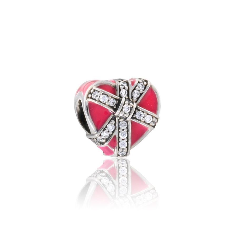 【オンラインショップ】 Pandora Women's Magenta Present Magenta of Love Present Charm - Pandora 792047CZ, トータルマーケット:94e8a894 --- airmodconsu.dominiotemporario.com