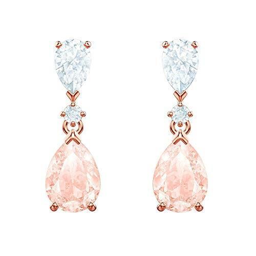 【セール 登場から人気沸騰】 Swarovski Crystal Vintage Pink Drop Earrings, a la mode 851ea194