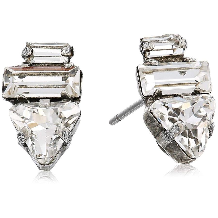 【楽ギフ_包装】 Sorrelli Lisa Oswald Collection Geometric Crystal Stud Earrings, 丸万質舗 ec54e5b1