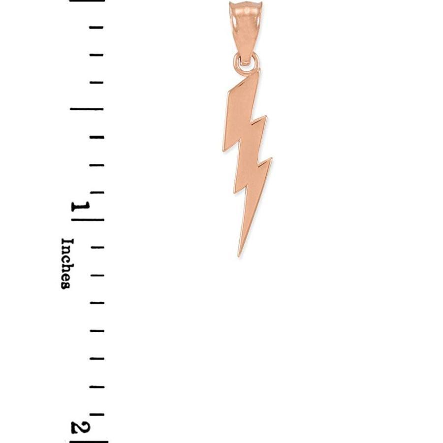 超可爱の Polished 14k Pendant Rose Gold Polished Lightning Bolt Charm Gold Pendant, スーツケース旅行用品のグリプトン:417aa4ce --- airmodconsu.dominiotemporario.com