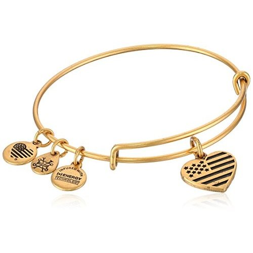 柔らかい Alex and Ani Heart Flag EWB, Rafaelian Gold, Expandable, ZUCA SHOP OSAKA b737c98a