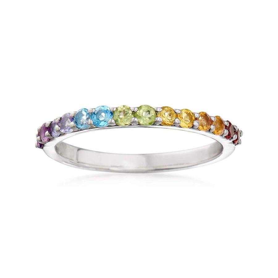 【受注生産品】 Ross-Simons 0.46 ct. t.w. t.w. Multi-Stone Ring in Silver Sterling Ring Silver, 箸匠 伊瑳美團十郎:edbabee6 --- airmodconsu.dominiotemporario.com