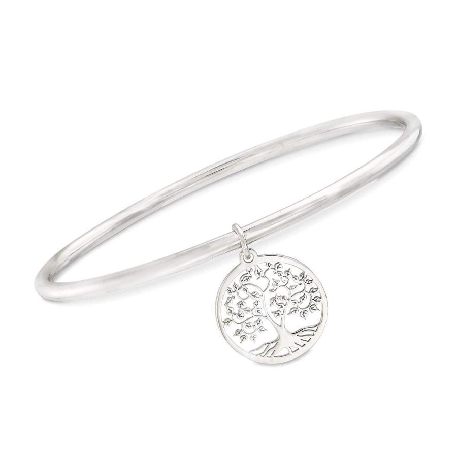 新しい季節 Ross-Simons Italian Charm Sterling Silver Tree Italian Of Bracelet Life Charm Bangle Bracelet, トーホー:6ac6d3d4 --- airmodconsu.dominiotemporario.com
