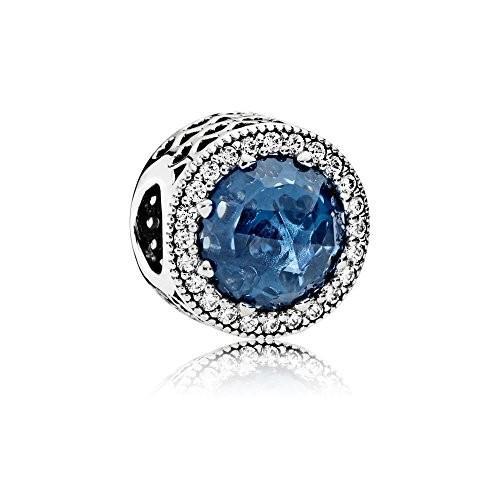 憧れの Pandora Midnight Charm 791725 Midnight Blue Radiant Hearts Silver Charm with Clear CZ 791725, 人気No.1:f68c95b7 --- airmodconsu.dominiotemporario.com
