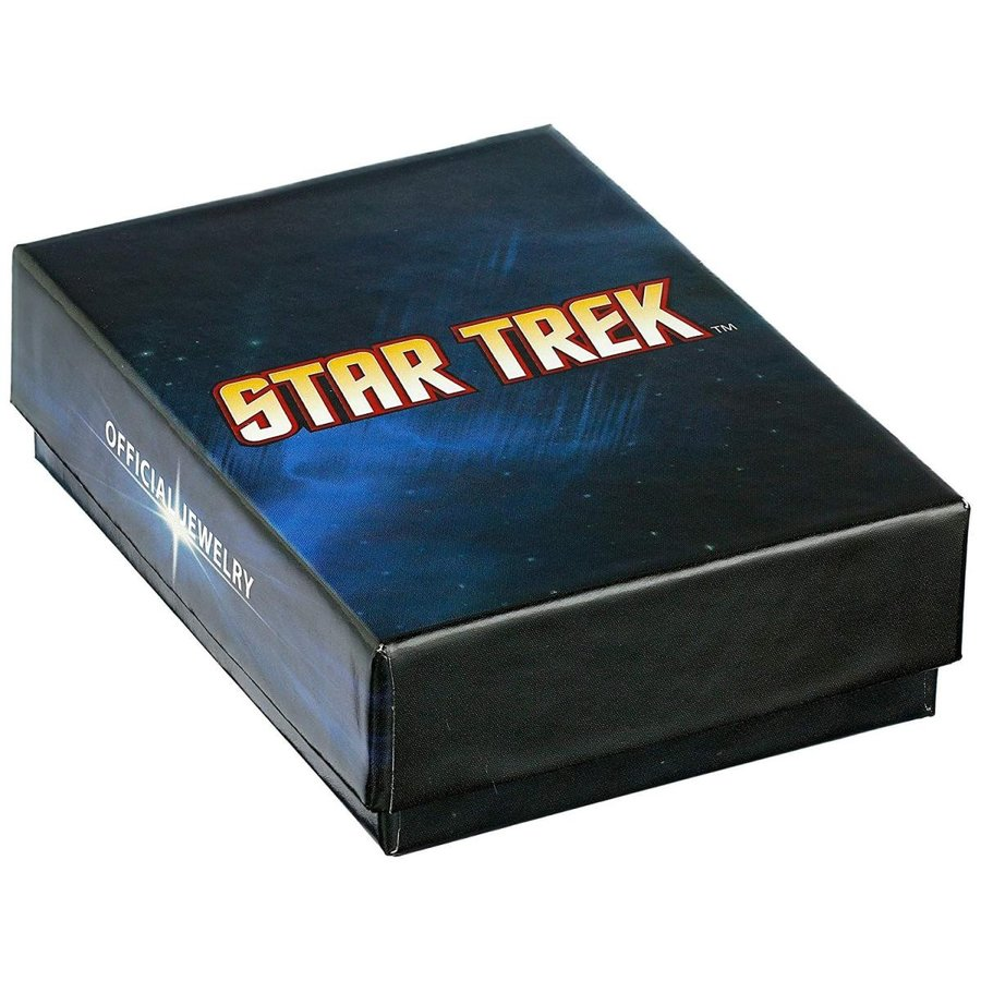 【ラッピング不可】 Star Trek Unisex Stainless Steel Rank Brooches and Pins, アイラブ制服@ dada56e1