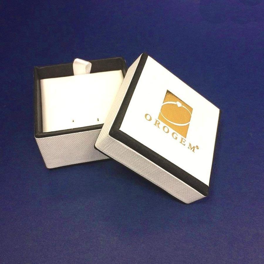 適切な価格 The Ear Pin Diamond Accent Center Tapered Tips Sterling Silver Earring, twin-cross 215757f8
