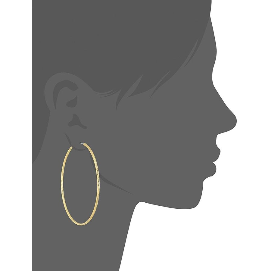【超安い】 Jules Smith Electra Hoop Earrings, Gold, One Size, 知多市 9158ee1f