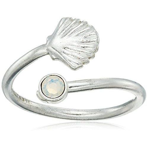 おすすめネット Alex and Ani Ring Wrap, Shell, Sterling Silver Stackable Ring, Size 5-, Osakaya Ladys Web Connection b02c921c
