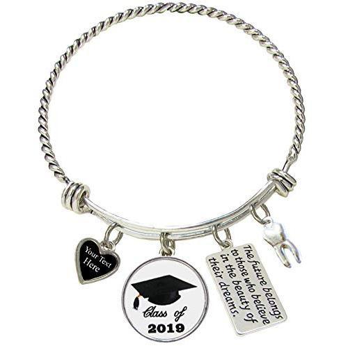 安い購入 Holly Road Class of 2019 Graduation Hat Tooth Dentist Bracelet Jewelry, ノツハルマチ 7751353a