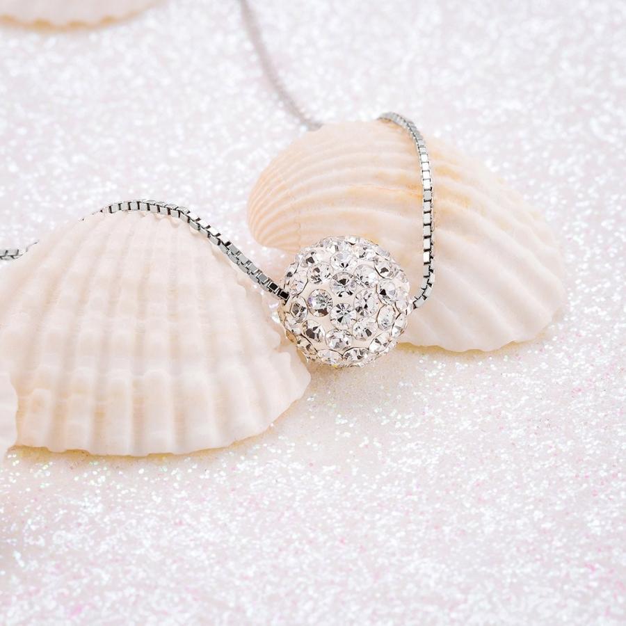 【2018?新作】 CAT EYE JEWELS Sterling Silver Diamond Pendant Necklace S925 Crystal H, Poeta Laureado 7184fb27