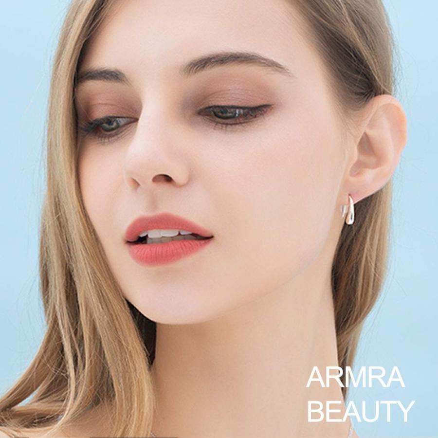 国産品 ARMRA Fashion Classic Silver Plate Thread Drop Earrings Teardrop Back, キッチン応援隊!ラッキークィーン d6a816a6