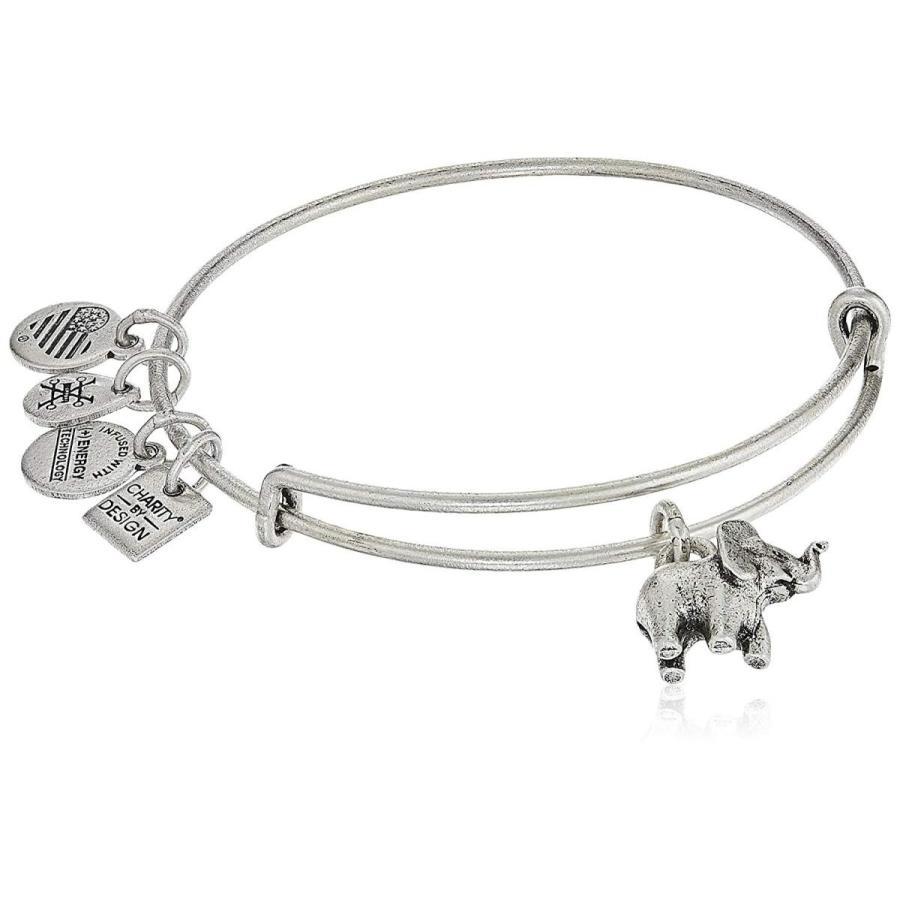 ランキング第1位 Alex and Ani Charity By Design, Elephant II Rafaelian Silver Bangle Br, 富士川町 76dcf964