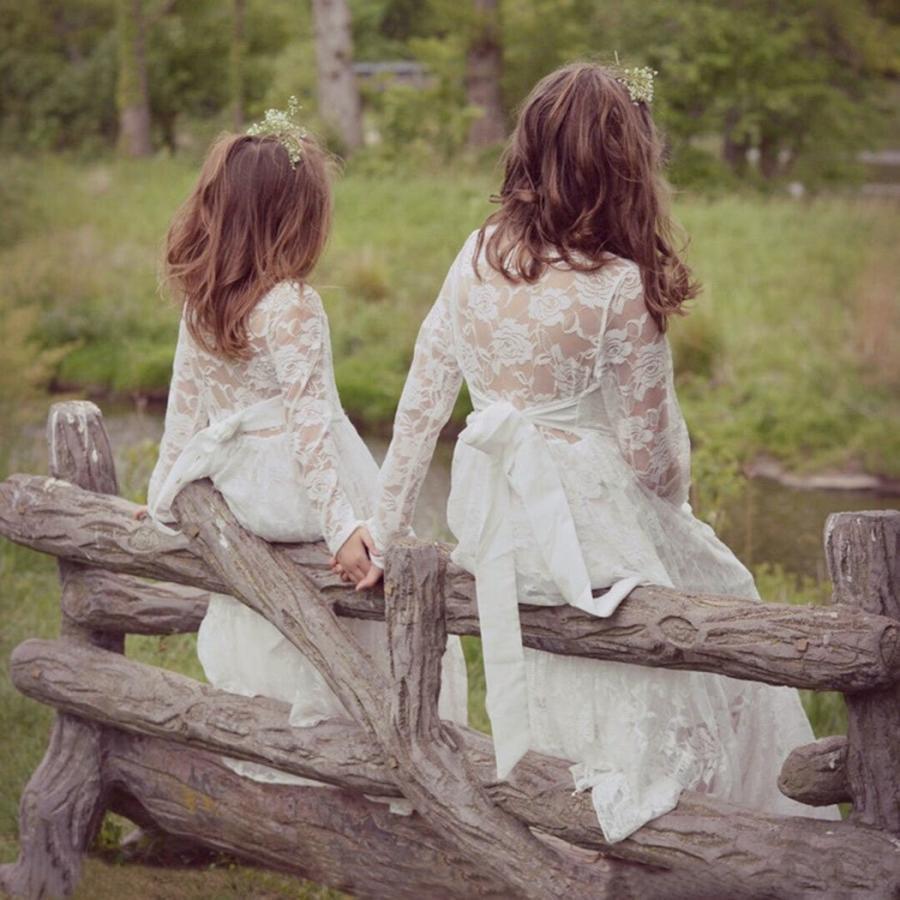 【70%OFF】 belababy 5T Flower Girls Ivory Lace Dress in Beach Wedding, トネムラ ed76f194