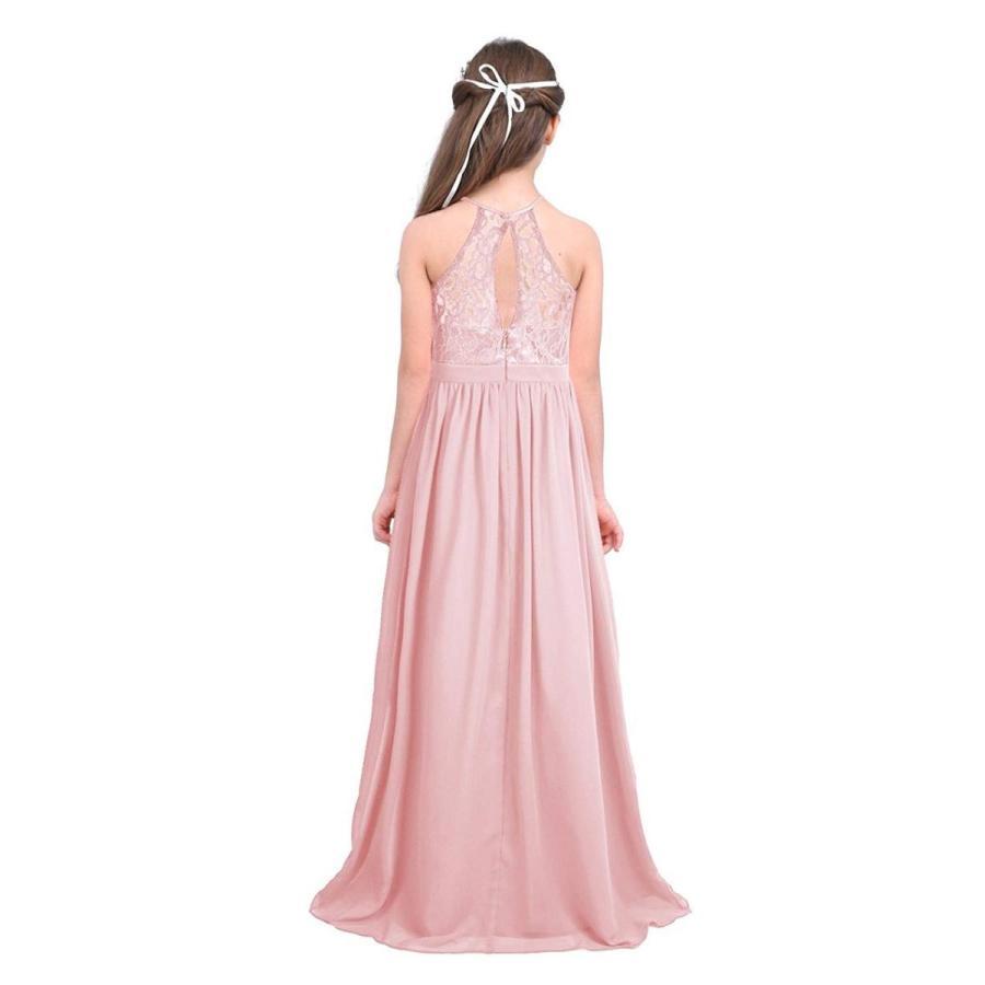 【超特価sale開催】 FEESHOW Big Girls Halter-Neck Floral Lace Junior Bridesmaid Dress Part, バリ雑貨アジアンインテリアストア c4ac6491