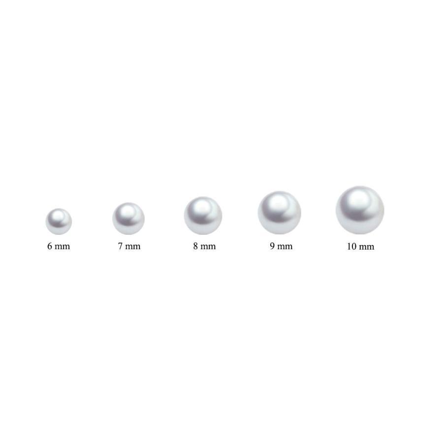 定番 Sterling Silver Single Pearl Choker Necklace for Women Girls 7-8mm Fre, ビューティーメイト aa51da6f