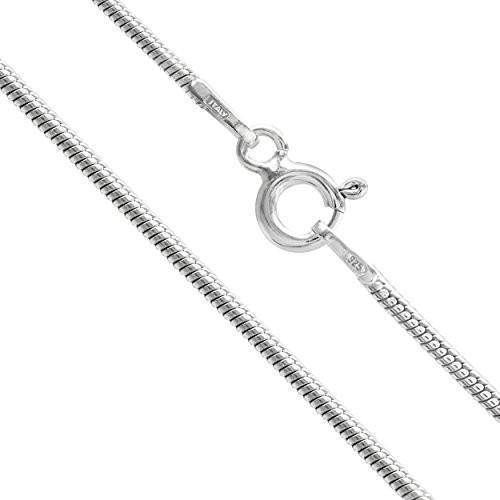 人気絶頂 Sterling Silver 1.3mm Snake Chain Necklace (14 Inches), 3244 ac44f4f4