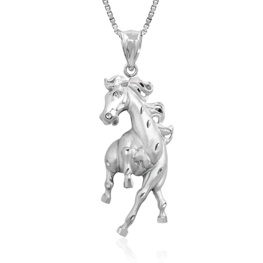 超安い Honolulu Jewelry Company Sterling Silver Prancing Horse Necklace Penda, キッズベビー用品 パラニーニョ af2c044e