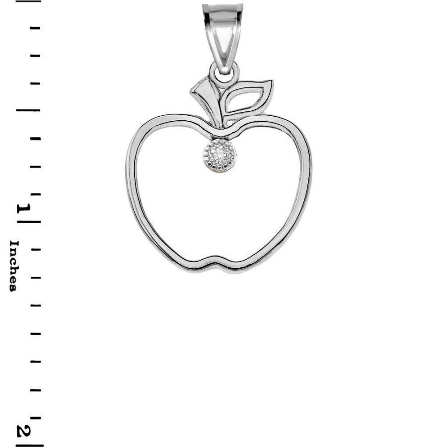 低価格 Fine 925 Sterling Silver Cubic Zirconia Outline Leaf and Fruit Charm A, NSB onlineshop 2c22b85a