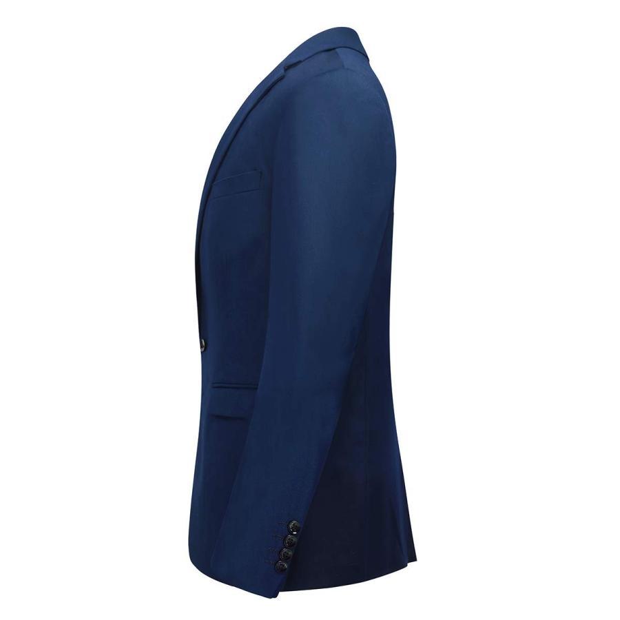 【返品交換不可】 YFFUSHI Mens One Button Formal 2 Piece Suits Slim Fit Multi-Color Wedd, Marysecret 60bb7f7b