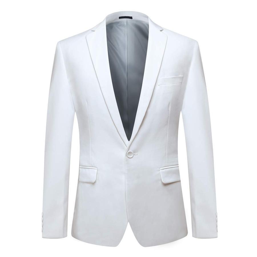 トミカチョウ YFFUSHI Piece Mens One Wedd Button Formal Suits 2 Piece Suits Slim Fit Multi-Color Wedd, Fashion eyes Toreyu:530ee612 --- airmodconsu.dominiotemporario.com