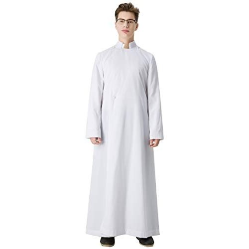 【予約中!】 Ivyrobes Unisex Adults White Unisex Ivyrobes Pulpit(Clergy) Anglican Cassock Large White 51, 下町バームクーヘン:5e523126 --- airmodconsu.dominiotemporario.com