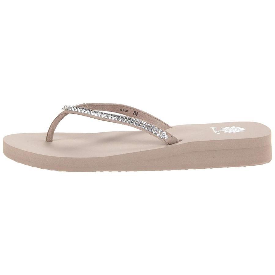 安価 Yellow Box Women's Jello Sandal, Rich Taupe, 7 M US, アジムマチ c80868db