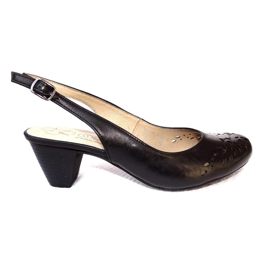 【半額】 O.G.S. XXW Wide Shoes Women's Isabella Nero Black 9 Leather Shoes Pumps 9 XXW US, 吉野鶏めし:475c9020 --- airmodconsu.dominiotemporario.com