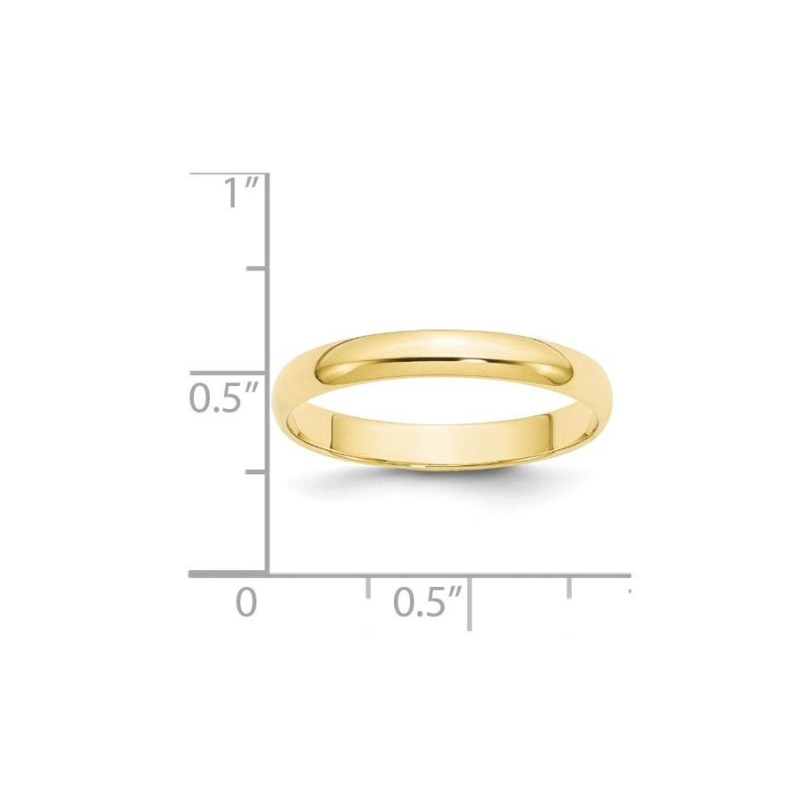 【ついに再販開始!】 BRIDALCOLLECTION Half 10K Yellow Yellow Gold 3.00MM LTW Half Round Wedding LTW Band Ri, ブランドショップ ラッシュモール:316bf50e --- airmodconsu.dominiotemporario.com