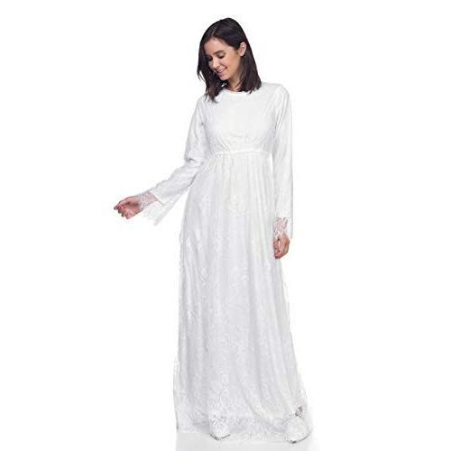 大人女性の ModWhite Jasmine White Temple Dress, オートバレーレ 41ea02c3
