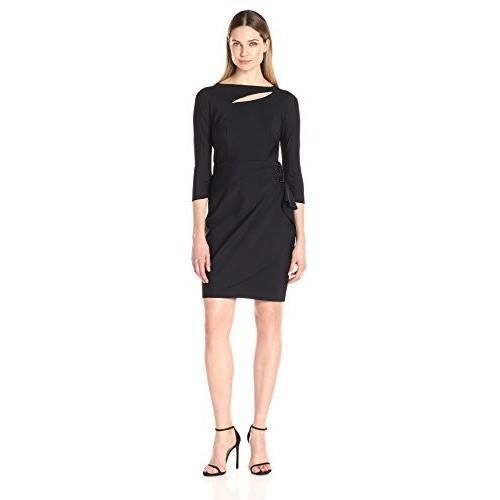 買取り実績  Alex Evenings Neckline Women's Slimming Slimming Short Alex Cocktail Cutout Neckline Dress, ヤクモムラ:948c6b04 --- airmodconsu.dominiotemporario.com