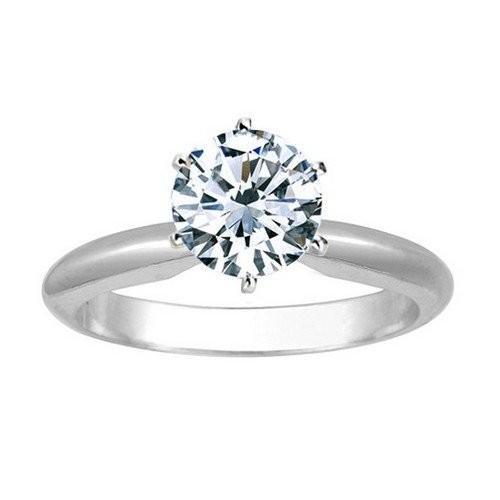 人気 Near 1 Ring Solitaire Carat Carat Round Cut Diamond Solitaire Engagement Engagement Ring 14K Whi, 益子焼 和食器通販 わかさま陶芸:0a2e192d --- airmodconsu.dominiotemporario.com
