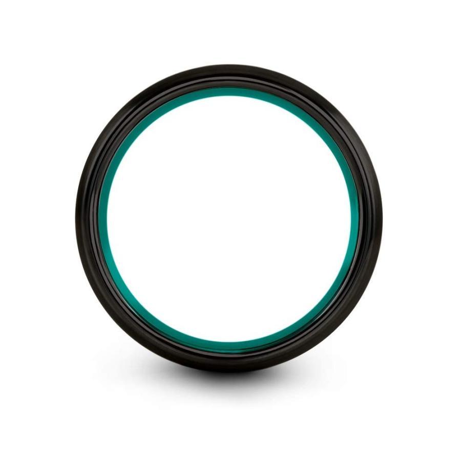 贅沢品 Chroma Color Collection Tungsten Wedding Band Ring 6mm for Men Women A, キモノ 仙臺屋 本店 c396aeef