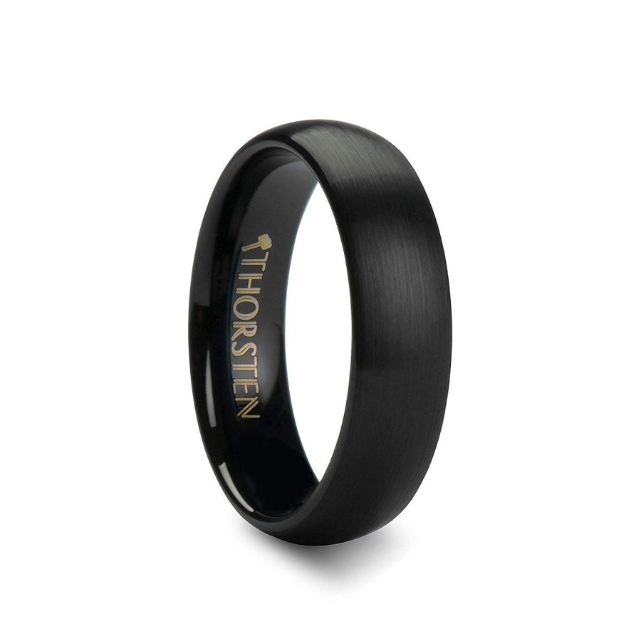 【メーカー包装済】 Thorsten Raider Pl | Tungsten | Rings for Men | Tungsten | | Comfort Fit | Pl, ウエスト:a6df151f --- airmodconsu.dominiotemporario.com