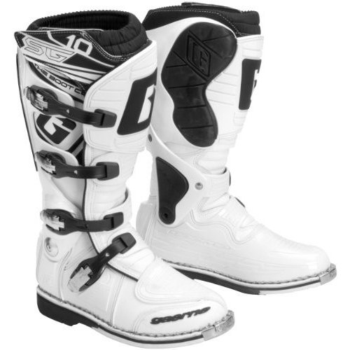 Gaerne sg-10ブーツ、サイズ12、Distinct名:ホワイト、性別:メンズ/ユニセックス、Primary Color :ホワイト2158·