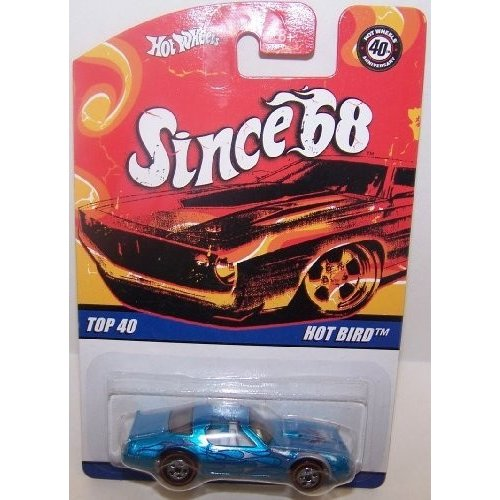 Hot Wheels Since '68 Series '57 Chevy 白い Wall 5 Spoke Drag Mags & Flamz
