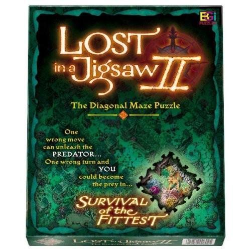 Survival of the Fittest、Lost in a Jigsaw II、対角線の迷路パズル