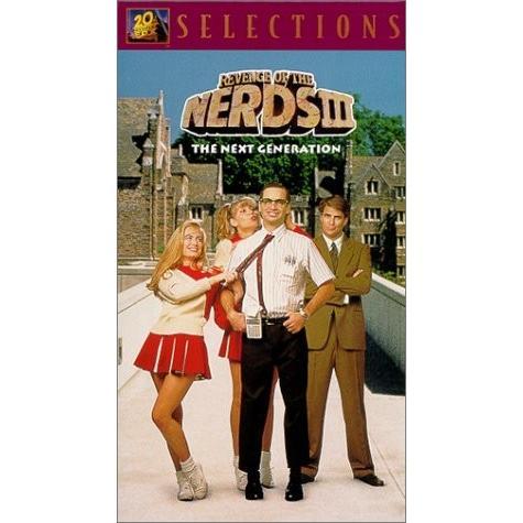 Revenge of the Nerds 3: Next Generation [VHS] [Import]