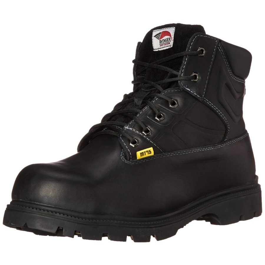 [Avenger Safety Footwear] メンズ カラー: ブラック